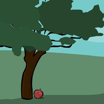 Der Apfel fällt nicht weit vom Stamm von Robbin Bijl