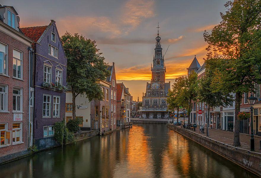Zijdam en de Waag, Alkmaar van Sjoerd Veltman