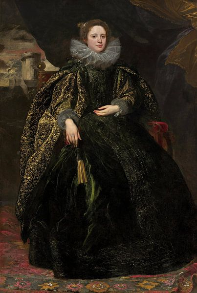 Marchesa Balbi, Anthony van Dyck. von Meesterlijcke Meesters