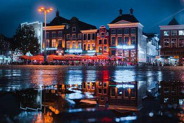 Grand marché, Groningue sur Harmen van der Vaart