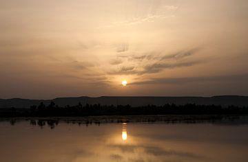 zonsondergang von gunther verbist
