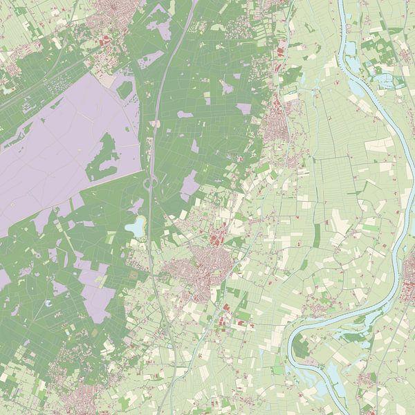 Kaart vanHeerde