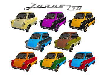 Zündapp Janus 250 in all colors von aRi F. Huber