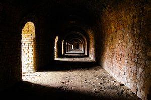 Mysterieuze verlaten steenfabriek van