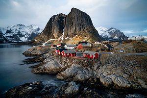 Hamnøy, Norway Lofoten sur Ab Wubben