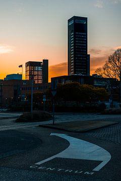 De Achmeatoren in de zonsondergang van Nando Foto