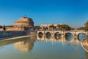 Castel Sant Angelo, Rome, Italy van