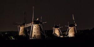Verlichte molens Kinderdijk #6