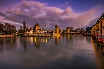 Overdekte bruggen in Straatsburg van Konstantinos Lagos