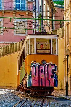 Lissabon - Tram sur Henk Frings
