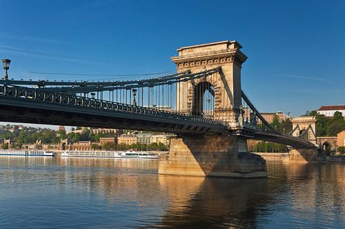 Chain Bridge, Budapest, Hungary sur