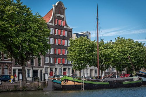 Traditionele bouw in Dordrecht.