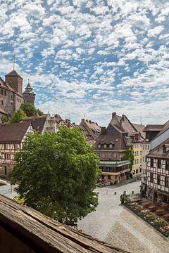NUREMBERG Old Town Overview sur Melanie Viola