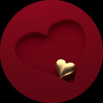 Hart in hart 1 van Jörg Hausmann