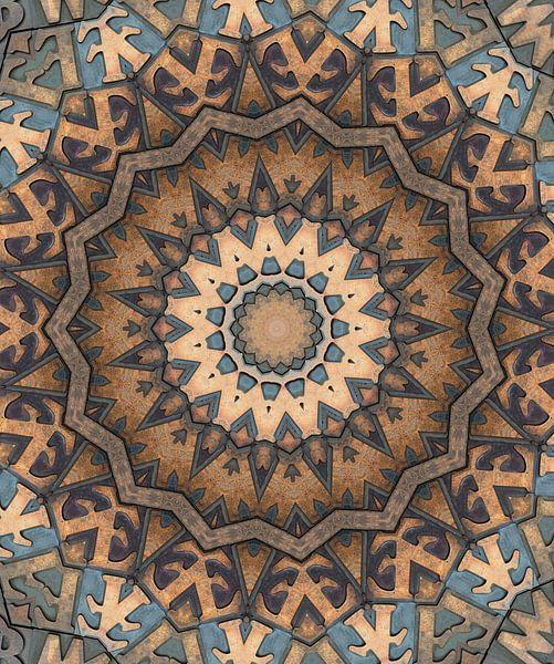 Kaleidoscoop Letters van Bright Designs