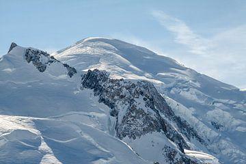 Mont-Blanc, dak van Europa van Jc Poirot