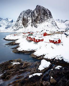Het uitzicht van Hamnøy von Nando Harmsen