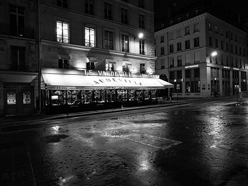 Restaurant Le Vaudeville in Parijs