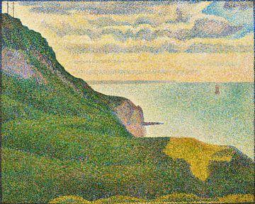 Meerblick bei Port-en-Bessin in der Normandie, Seurat