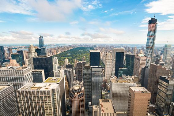 Uitzicht op Central Park