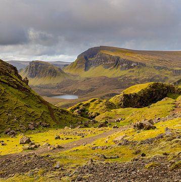 Quiraing - Isle of Skye Schotland van Remco Bosshard