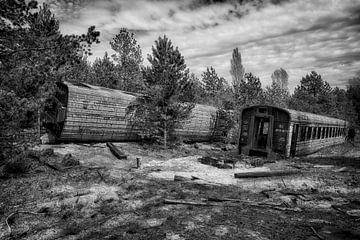 Tschernobyl-Zug 4 von Kirsten Scholten