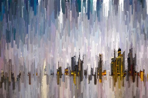 Abstracte skyline