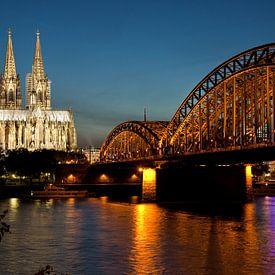 Envolez-vous pour Cologne grâce à nos photographies reproductibles sur tableau et optez une décoration murale originale!