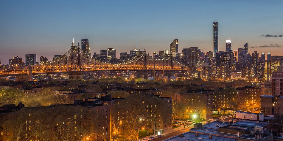New York Skyline - Queensboro Bridge (2)