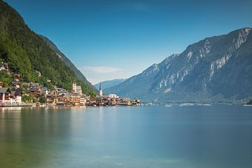 Hallstätter See in Oostenrijk