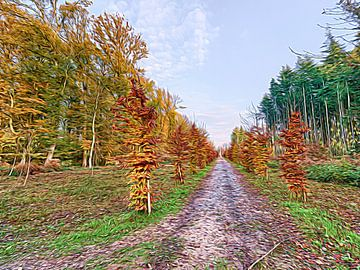 Bomenlaan von Frank Maurits
