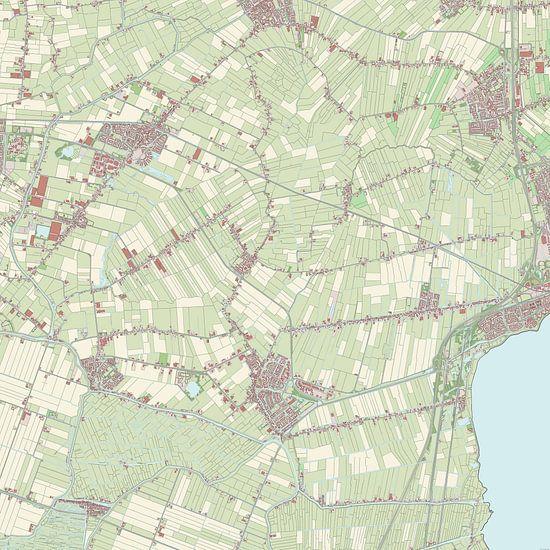 Kaart vanKoggenland