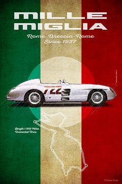 Mille Miglia MB 722 von Theodor Decker