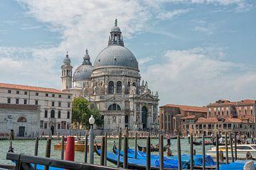 Santa Maria della Salute, Venetie, Italië  van Richard van der Woude