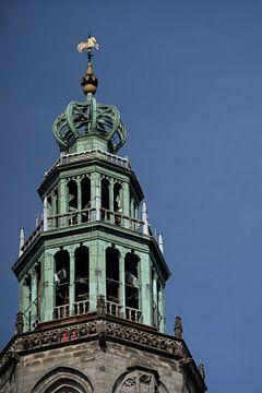 Die Turmspitze des Martinitoren von Foto's uit Groningen