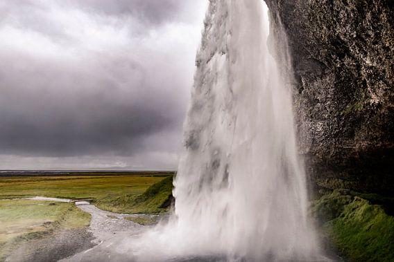 Seljalandsfoss in IJsland van Sjoerd van der Wal
