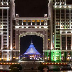 Khan Shatyr in Astana van Jeroen Kleiberg