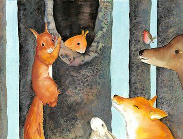 Gefunden! – Eichhörnchen von Martine van Nieuwenhuyzen