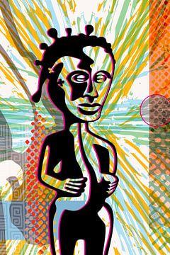 Afrikaanse figuur van Siegfried Gwosdz