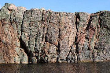 Granitfelsen in Schweden van Heike Hultsch
