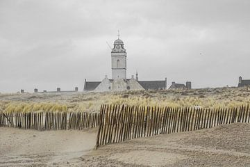 Kerk aan Katwijkse strand sur