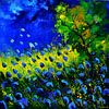 Blue poppies van pol ledent thumbnail