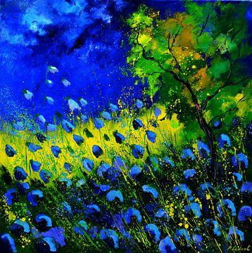 Blue poppies von pol ledent