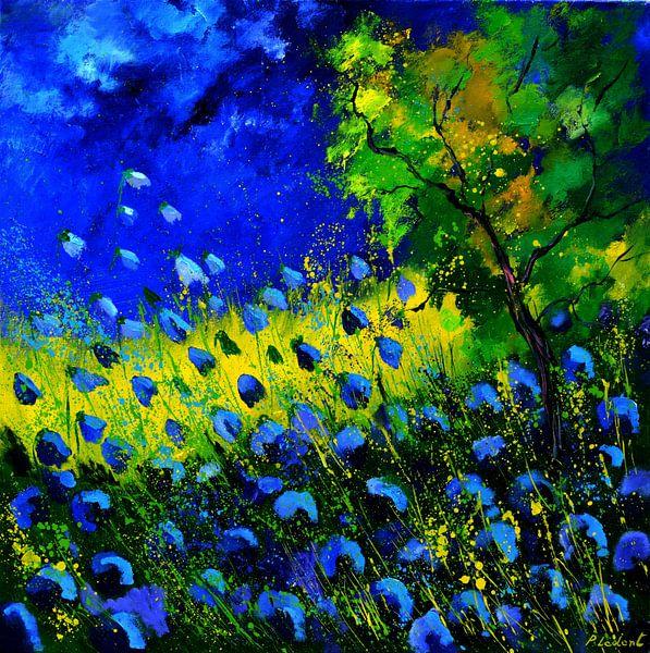 Blue poppies van pol ledent