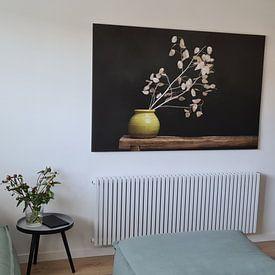 Klantfoto: Judaspenning stilleven, geïnspireerd door de werken van de Dutch masters (gezien bij vtwonen) van Joske Kempink, op xpozer