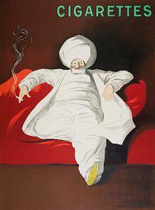 JOB Zigaretten, Leonetto Cappiello von Vintage Afbeeldingen