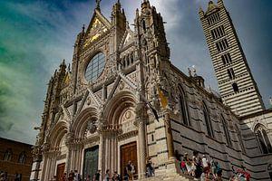 De kathedraal van Siena
