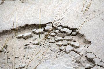 wind water en zand van Fred Vester