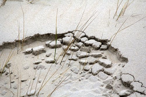 wind water en zand van