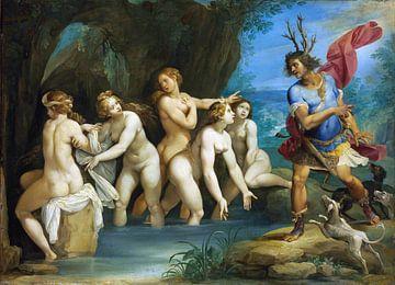 Diana und Actaeon - Giuseppe Cesari, 1603 von Atelier Liesjes